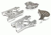Billet Machined Alloy Center Differential Mount Set for Losi 5ive-T