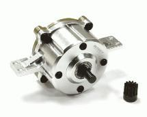 Billet Main Transmission Gearbox w/ Metal Gear for D90 Type Scale Crawler