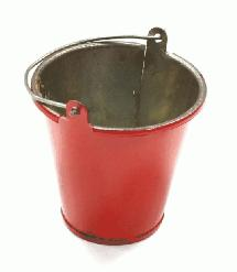 Realistic 1/10 Scale Large Size Metal Bucket for Off-Road Crawling