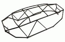 Realistic T2 Steel Roll Cage Body for Savage XL (428mm)