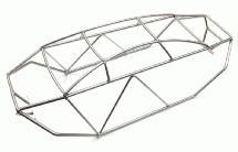 Realistic T2 Steel Roll Cage for Savage XL (428mm)
