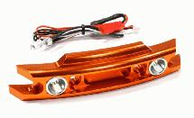 Billet Machined Front Bumper w/ LED Lights for Traxxas 1/10 Revo 3.3 & E-Revo