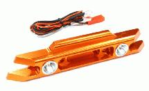 Billet Machined Rear Bumper w/ LED Lights for Traxxas 1/10 Revo 3.3 & E-Revo