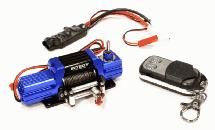 T7 Realistic High Torque Mega Winch w/ Remote for Scale Rock Crawler 1/10 Size