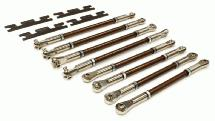 Heavy-Duty Spring Steel Turnbuckle Set for 1/10 E-Revo & Revo 3.3