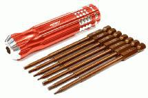 QuickPit 7pcs Set, Hex Tip Set (0.05 1.5 1/16 5/64 2.5 3/32 3.0)