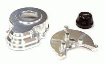 Billet Machined Gearbox Plate & Gear Cover for Axial SCX-10 & Wraith 2.2
