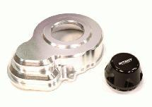 Billet Machined Gearbox Spur Gear Cover for Axial SCX-10 & Wraith
