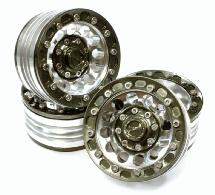 1.9 Size Billet Machined Alloy 12H Wheel (4) High Mass Type for Scale Crawler