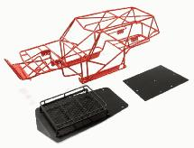 Realistic T2 Steel Roll Cage Body w/ Luggage Tray for Axial Wraith