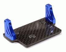 Machined Alloy+Carbon Fiber Servo Mount for Axial 1/10 SCX-10 Scale Crawler