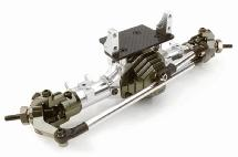 Complete Billet Machined T4 Front Axle for SCX-10, Dingo, Honcho & Jeep