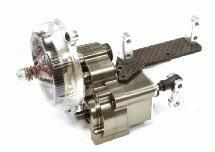 Billet Machined Main Gearbox w/ Remote Locking Dig Unit for Axial 1/10 Wraith