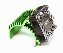 Side 40x40mm HS Cooling Fan+Heatsink Mount for 40mm O.D. Motor