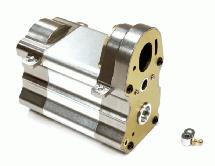 Billet Machined Gearbox Case for Custom 1/14 Semi-Tractor Truck