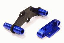 Billet Machined Rear Body Mount & Pin Retainer for Traxxas LaTrax Rally 1/18