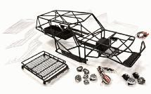 Realistic Scale VFX2.2 Roll Cage Tube Frame Chassis Set for 1/10 Axial Wraith
