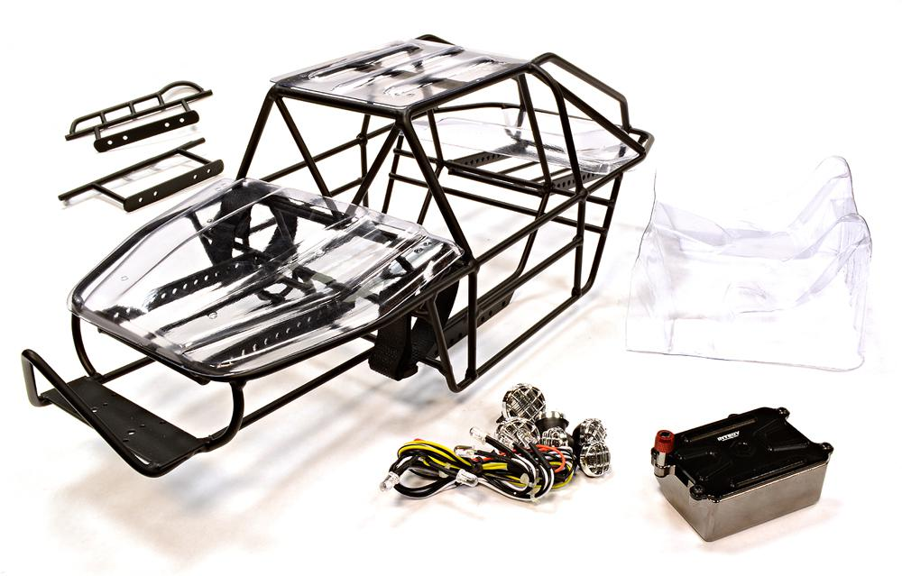 Realistic Scale RCT 1.9 DIY Roll Cage Tube Frame Chassis for 1/10 ...