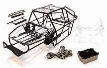 Realistic Scale RCT1.9 Roll Cage for 1/10 Axial SCX-10 Rock Racer