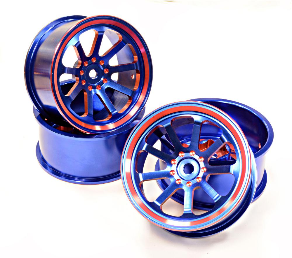 1 10 Rc Car Wheels : Tires inserts wheels for rc on road touring cars