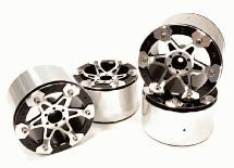 Billet Machined High Mass 6 Spoke 2.2 Size Wheel for 1/10 Rock Crawler