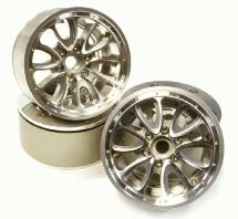 Billet Machined High Mass 12 Spoke 2.2 Size Wheel for 1/10 Rock Crawler