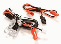 LED Light 6pcs w/ Extended Wire Harness to Receiver or 6VDC Source