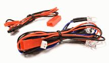 LED Light 4pcs w/ Extended Wire Harness to Receiver or 6VDC Source