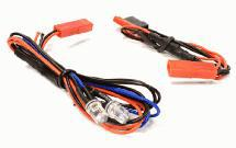 LED Light 2pcs w/ Extended Wire Harness to Receiver or 6VDC Source