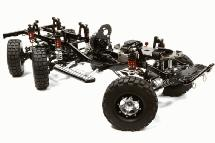 Billet Machined 1/10 Size Twin Motor Trail Roller 6x6AWS Scale Crawler ARTR