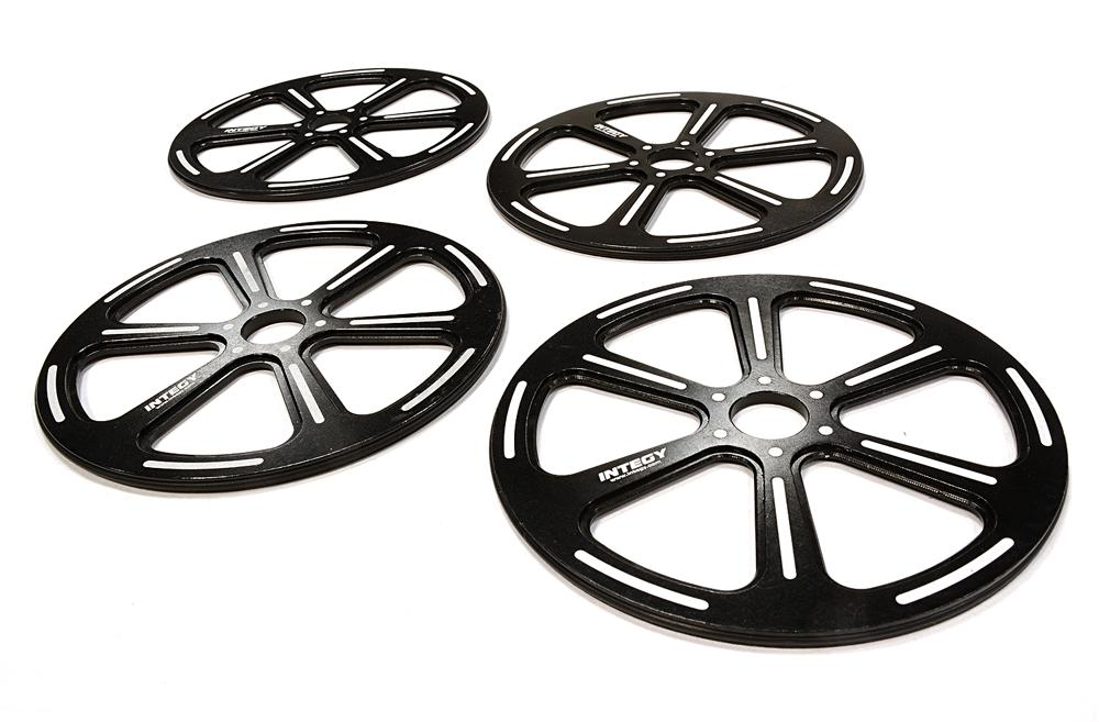 89mm Setup Wheel (4) for 1/8 GT, GT8, Touring