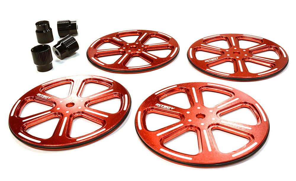 Professional 61mm Setup Wheel 4 For 1 10 Size Touring Car