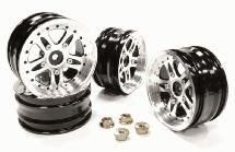 Billet Machined T1 Wheel Set (4) for Tamiya Scale Off-Road CC01
