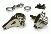 Billet Machined Steering Blocks for Tamiya Scale Off-Road CC01