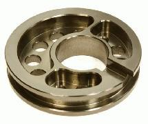 Billet Machined Motor Mount Plate for Axial 1/10 Yeti Rock Racer
