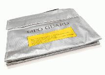 LiPo Guard Large Battery Bag (240x180x60mm) for Charging and Storaging