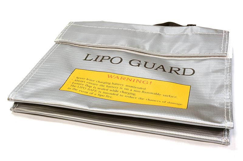 Lipo Guard Medium Battery Bag 210x160x40mm For Charging And Storaging