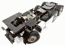 Billet Machined Rolling Chassis for Custom 1/14 Semi-Tractor Truck