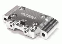 C25952GREY Alloy Front Arm Hinge Pin Brace for Associated RC10B5 /& B5M Buggy
