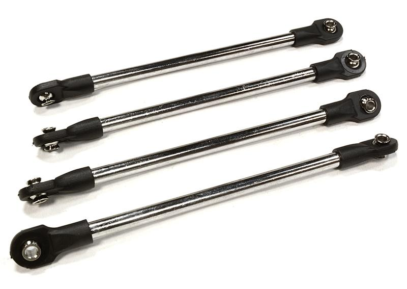 Push Rod Set (4) for Traxxas 1/10 Scale Summit 4WD