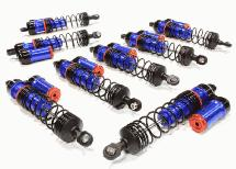 Billet Machined Piggyback Shock Set (8) for Traxxas 1/10 Scale E-Maxx Brushless