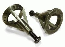 Realistic 59-105mm Model Jack Stands (2) for 1/10 & 1/8 Scale & Rock Crawler