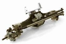 Complete T5 Hi-Lift Gearbox Front Axle for SCX-10, Dingo, Honcho & Jeep