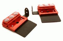Billet Machined Rear Light Housing Set for Tamiya & Custom 1/14 Scale Tractor