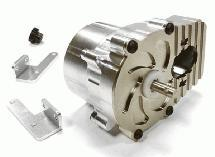 Billet Machined Main Gearbox for C25853 Type 6X6 Off-Road Truck 1/10 Size