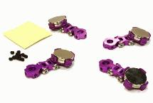 Billet Machined T2 Adjustable Stealth Body Mount Set for 1/10 Drift, Touring Car