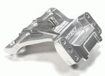 ASC90003 Integy RC Model Hop-ups C26083SILVER Billet Machined Front Shock Tower for Associated RC10B5 /& B5M