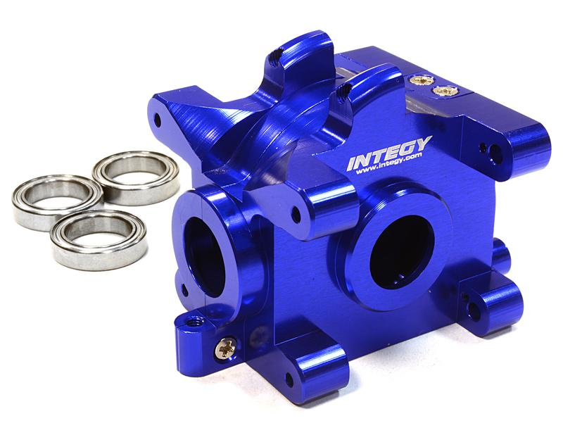Billet Machined Gear Box for HPI 1/10 Scale E10 On-Road