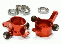 Billet Machined Steering Knuckles for HPI 1/10 Scale E10 On-Road