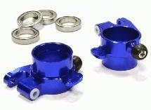 Billet Machined Rear Hub Carriers for HPI 1/10 Scale E10 On-Road